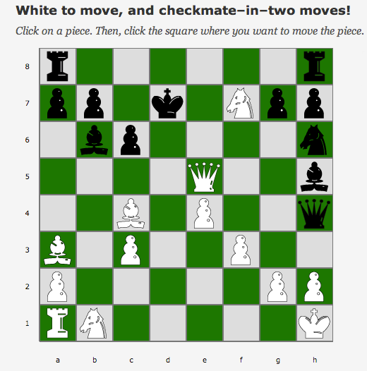 how to lose in two moves in chess